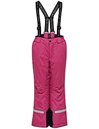 LEGO Wear Tec Play Lwplaton 709-Skihose/schneehose Pantalones para la Nieve, Rosa (Dark Pink 496), 164 para Niñas