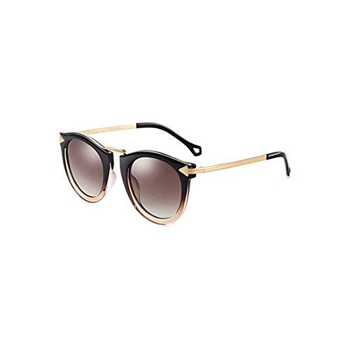 RJYJ Frauen Polarisierte Sonnenbrillen Sind Elegant, TAC-Linsen Sind Aus Gewöhnlichem Metall Hergestellt, Um Myopie, 30 Ultraleicht (Color : Blue)