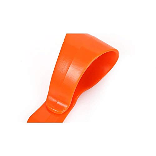HAHAJY 10 pcs Car Glasses Clips Portable Car Vehicle Visor Accessories Driving Sunglasses Card Pen Holder Ticket Clip,Blue Orange