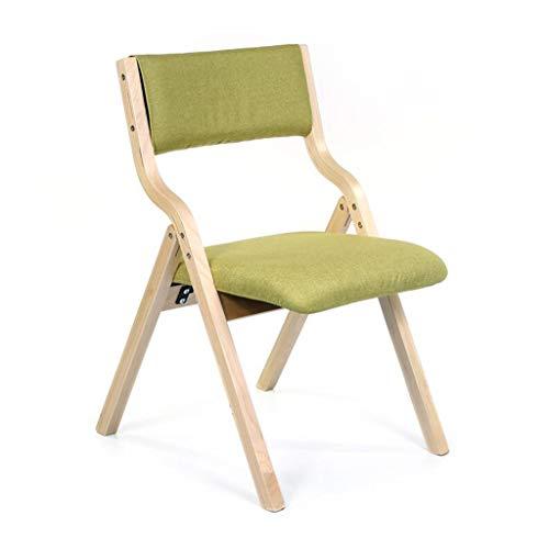 BHJqsy Holzstuhl, vielseitige einfache Freizeit Kleinen Sitz Home Nordic Dining Bank Schreibtischhocker Verhandlung Kaffee Holzklappstuhl
