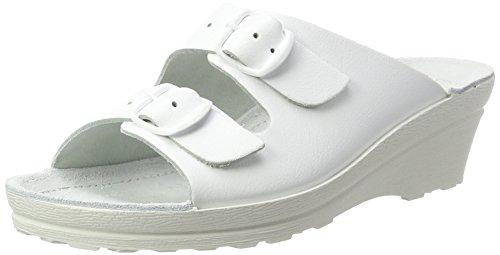 Beck Damen Klara Pantoletten, Weiß (Weiß), 41 EU