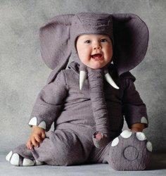 Elefant Kostüm Tom Arma für Babys - 18-24 ()