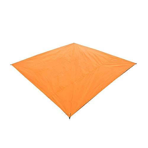 Telifiled Plane Luftmatratze wasserdichte Outdoor Picknick Strand Camping Mat Plane Bay Spielmatten Plaid Decke, Orange, 210X150 cm -