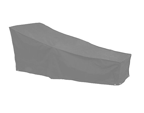Bosmere's Brand New 'THUNDER GREY' Sun Lounger Cover - Grey Test