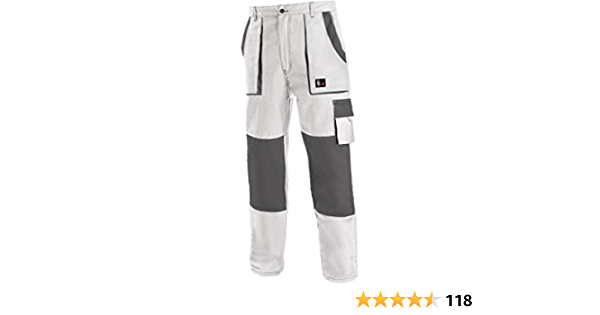 """NEW Mens Boys white work trousers decorator painter Cricket Waist 28/"""" or 30/"""""""