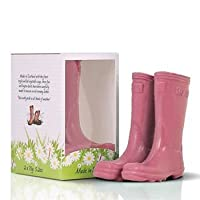 Scottish Fine Soaps The Novelty Collection Wellington Boot Soaps Pink by Scottish Fine Soaps