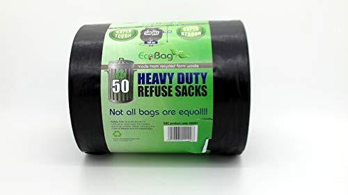 EcoBag -50 bolsas basura resistentes 50 litros