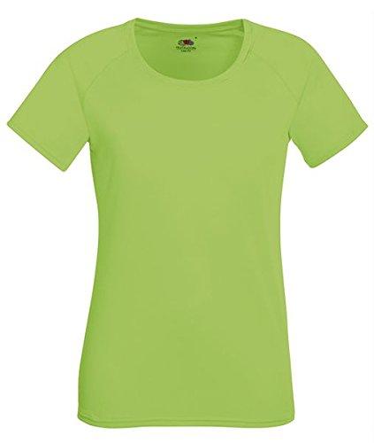 ATELIER DEL RICAMO - T-shirt de sport - Femme Verde Limone