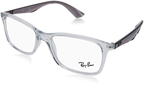 Ray-Ban Herren 0RX 7047 5768 54 Brillengestelle, Transparent,