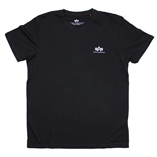 Alpha Industries T-Shirt Basic Small Logo Black