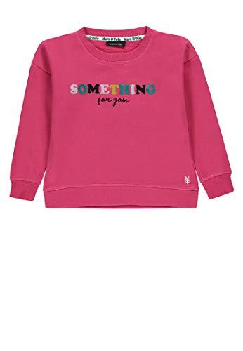 Marc O' Polo Kids Mädchen 1/1 Arm Sweatshirt, Rot (Carmine|Red 2240), Herstellergröße: 116 -
