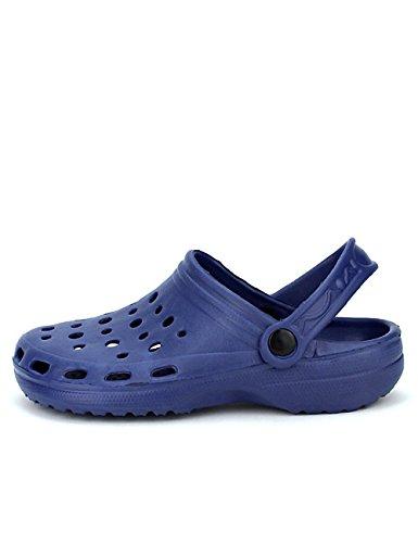 Cendriyon Sabots Plastiques Marine Pops Chaussures Femme