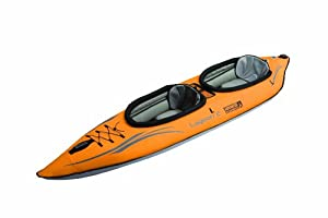 Advanced Elements Unisex Adult Lagoon2 Kayak - Orange, by Advanced Elements
