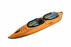 Advanced Elements Lagoon2 Kayak Gonfiabile, Arancione