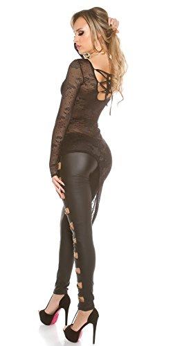 In-Stylefashion - Sweat-shirt - Femme noir noir M Noir
