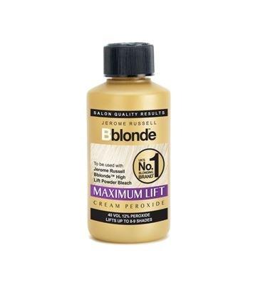 Bblonde 40Vol. Haaraufheller, hellt um 8–9 Töne auf, mittleres bis dunkelbraunes Haar, 6Stück, 75 ml, 12 % Peroxid