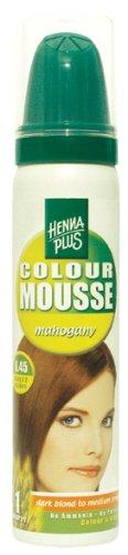 HennaplusColour Mousse Mahogany 6.45 - 75 ml