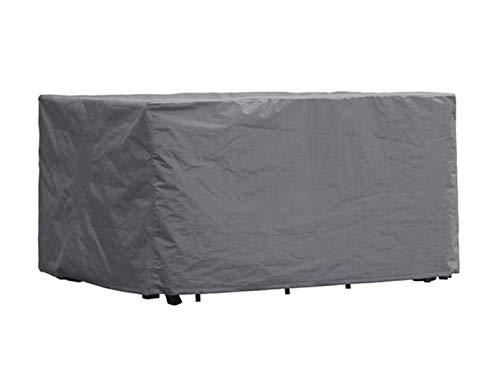 Perel Garden OCGS-S Schutzhülle Für Rechteckiges Lounge-Set-S, Schwarz, 165 x 135 x 95 cm