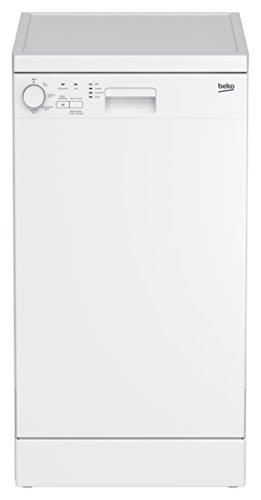 Beko DFS04010W Geschirrspüler / A+ / Watersafe / höhenverstellbarer Oberkorb / Halbe Beladung Funktion / Intensiv-Programm / 4 Reinigungstemperaturen / weiss