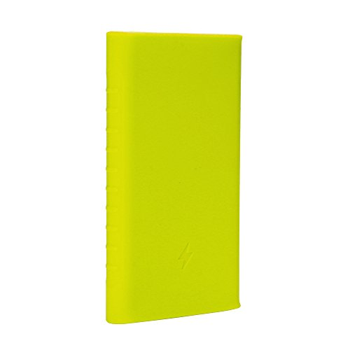 Heartly Soft Silicone Pouch Protector Cover Case For 10000mAh Mi Power Bank 2 (Version 2) - Great Green  available at amazon for Rs.299