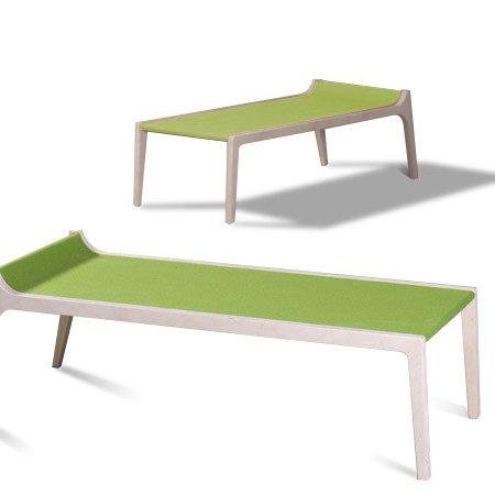 Kinderbank erykah, grün
