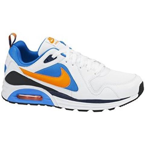 Nike Air Max Trax - Zapatillas de atletismo y running para hombre, color blanco / azul / gris