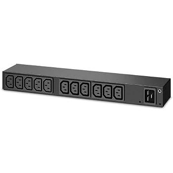 C13 - 13 Enterprise Computing  Racks Cabinets /& Mounts APC AP6020A RACK PDU BASIC 0U//1U 100-240V// 20A 220-240V//16A
