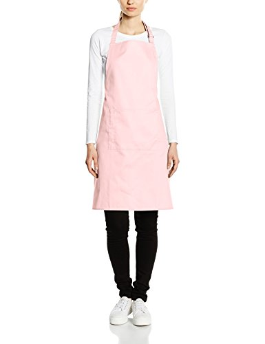 Premier Workwear Colours Bib Apron with Pocket, Top Donna Rosa - Pink