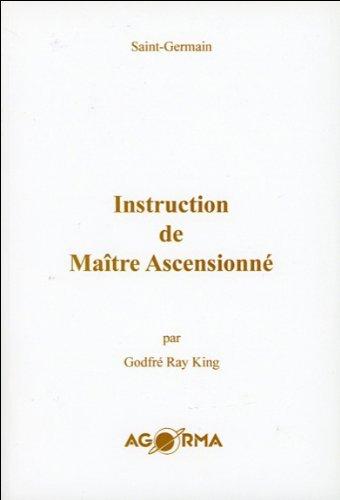 Book's Cover of Instruction de Maître Ascensionné