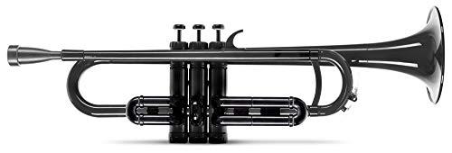 Classic Cantabile MardiBrass Tromba Sib in plastica colore nero