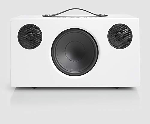 Audio Pro Addon C10 Altavoz (80 Watt, Multiroom, Stereo, AirPlay, WiFi, Bluetooth, Music Apps (Spotify, Tidal, Deezer), Radio por Internet como TuneIn, App) Color Blanco
