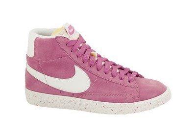 Rosa Nike Blazer (Nike Herren WMNS Blazer Mid Suede Vintage Turnschuhe, Rosa, 44,5 EU)