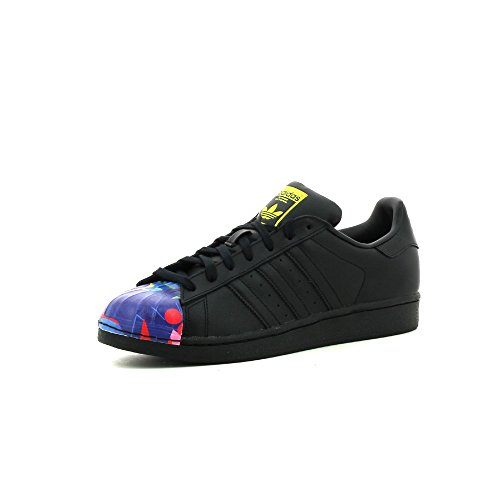 adidas , SUPERSTAR 1 MR SPORT SHELL TOE mixte adulte Core Black / Core Black / Yellow