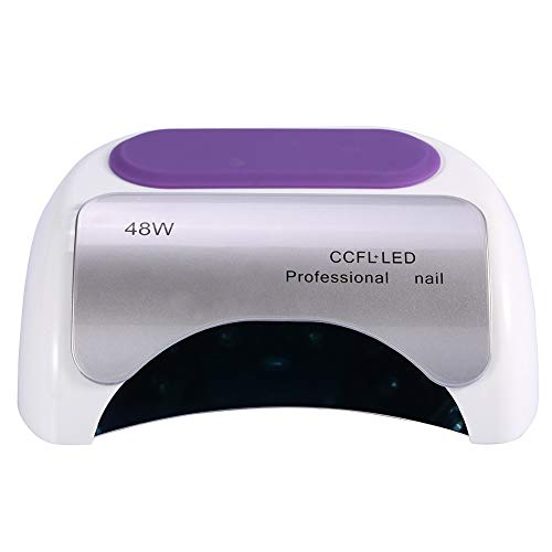 Gel Auto 48w Led Nail Dryer Plug Lampada Polish Manicure Ccfl Uv Light Sener Eu Pedicure Bianco 1uTKJlF3c5