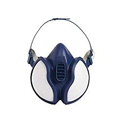 3M 4251 Half Mask Spray Paint Respirator - Blue, EN safety certified