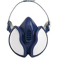 3M 4251C Halbmaske für Farbspritz- und Maschinenschleifarbeiten, gebrauchsfertig, geringer Atemwiderstand, besonders leicht