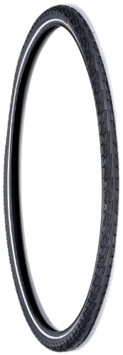 Continental Reifen Tour Ride 28 x 1 6 Trekking mit Reflexstreifen und Pannenstopp, schwarz, 6676
