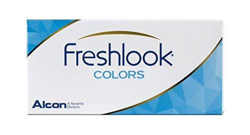 Alcon FreshLook Colors Hazel Monatslinsen weich, 2 Stück / BC 8.6 mm / DIA 14.5 / 0 Dioptrien