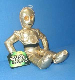 Star Wars Buddies C-3po Plush By Kenner