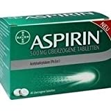 Aspirin 500 mg Tabletten, 40 St.