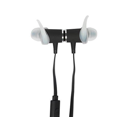 stay mobile PREMIUM Bluetooth Kopfhörer mit Mikrofon und magnetischem Headset, schwarz - 7
