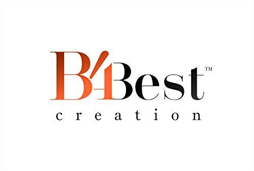 B4Best Creation Women's Cotton Silk Saree(SD_Goli-Black_Black)