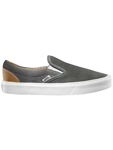 Vans Slip-On Lite Perf Black White (trim) charcoal/white