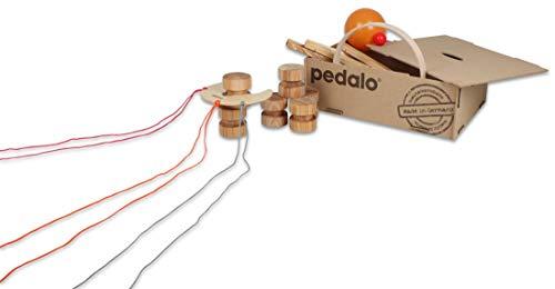pedalo Teamspiel-Box - Outdoor / Indoor Spiele, hochwertige Gruppenspiele (4-16 Schüler), 22 Teile