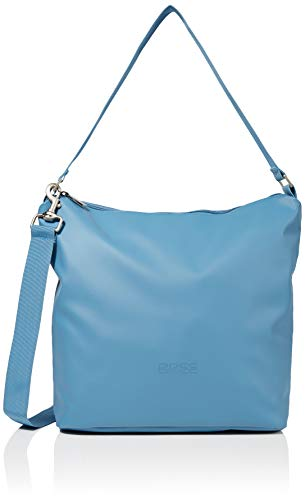 BREE Unisex-Erwachsene Punch 702, Provenc, Cro. Sh. M W19 Umhängetasche, Blau (Provincial Blue), 12x30.5x30 cm