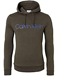 Calvin Klein K10K102726 Coton Logo Sweat-Shirt à Capuche Pull Hommes b7a17a508a66