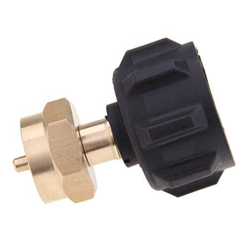 Adapter 1LB BBQ Außen Gas Ofen Propan Refill Zelten QCC1 zu Pol Regler -