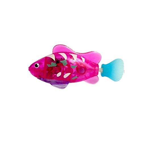 Buweiser Emulation Elektronische Fisch Baby Schwimmen Bad Elektrisches Bad Licht Spielzeug Magisches Licht Sensing 1 STÜCK (E) -