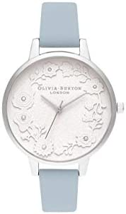 Olivia Burton Womens Quartz Watch, Analog Display and Leather Strap OB16AR04