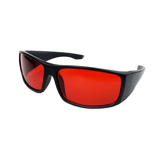 le, Brillengestell, rote und grüne schwache Korrekturbrille ()